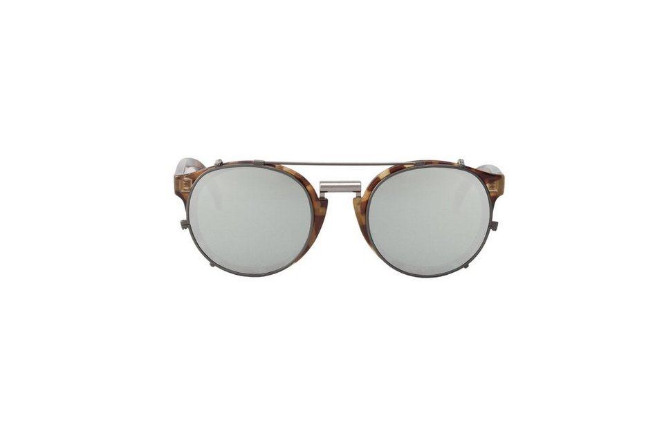 Mr. Boho Sonnenbrille »HC Tortoise Newtown mit silberfarbenen Gläsern« in SILVER