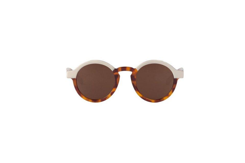 Mr. Boho Sonnenbrille »Creme/ Tortoise Dalston mit klassischen Gläsern« in TORTOISE