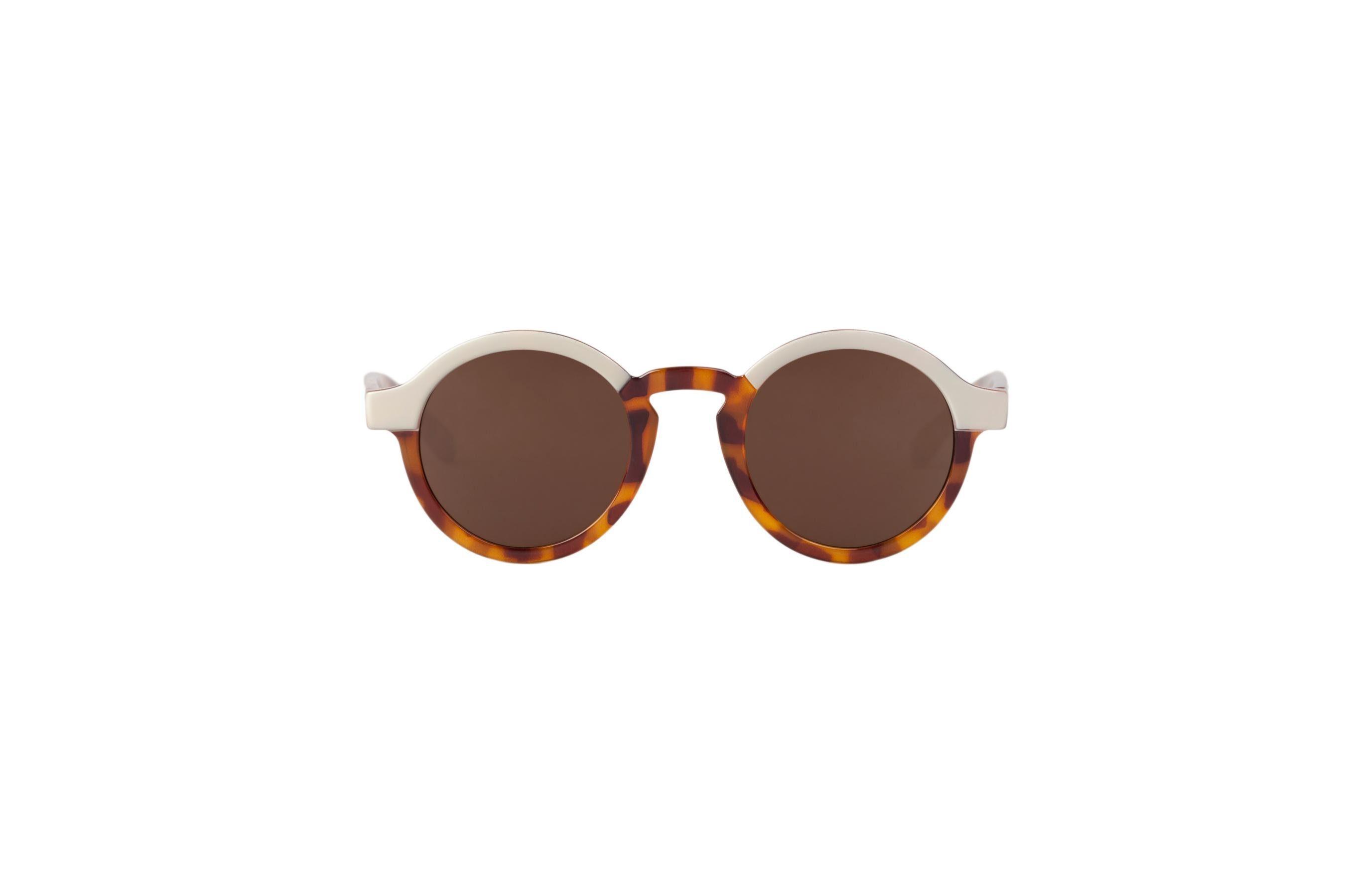 Mr. Boho Sonnenbrille »Creme/ Tortoise Dalston mit klassischen Gläsern«