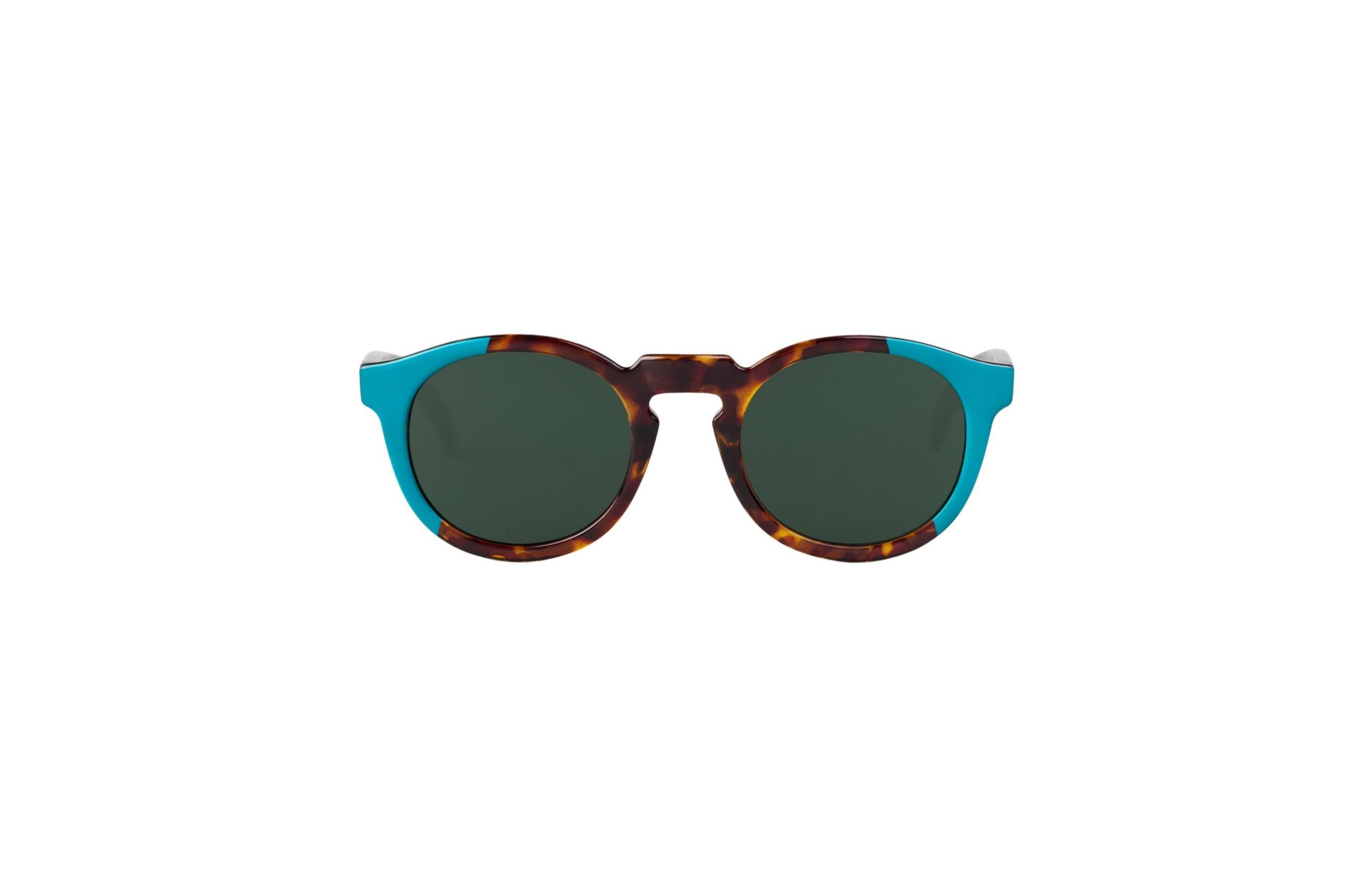 Mr. Boho Sonnenbrille »Turquoise/Cheetah Tortoise Jordaan mit klassischen«