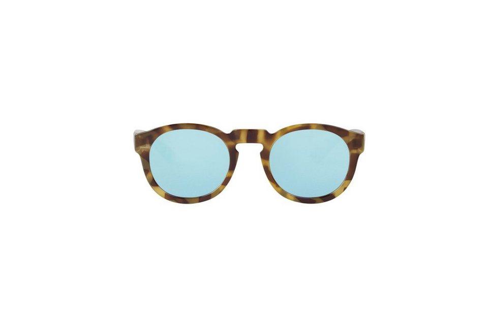 Mr. Boho Sonnenbrille »HH Tortoise Noord mit himmelblauen Gläsern« in TORTOISE