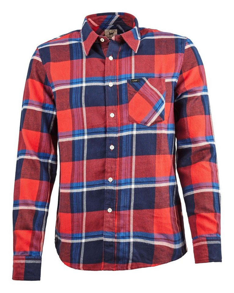 Lee Hemd »LEE SHIRT CHILI RED« in rot