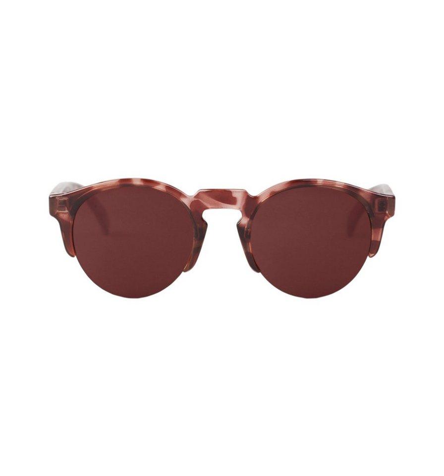 Mr. Boho Sonnenbrille »Monochrome rote Born« in BLACK