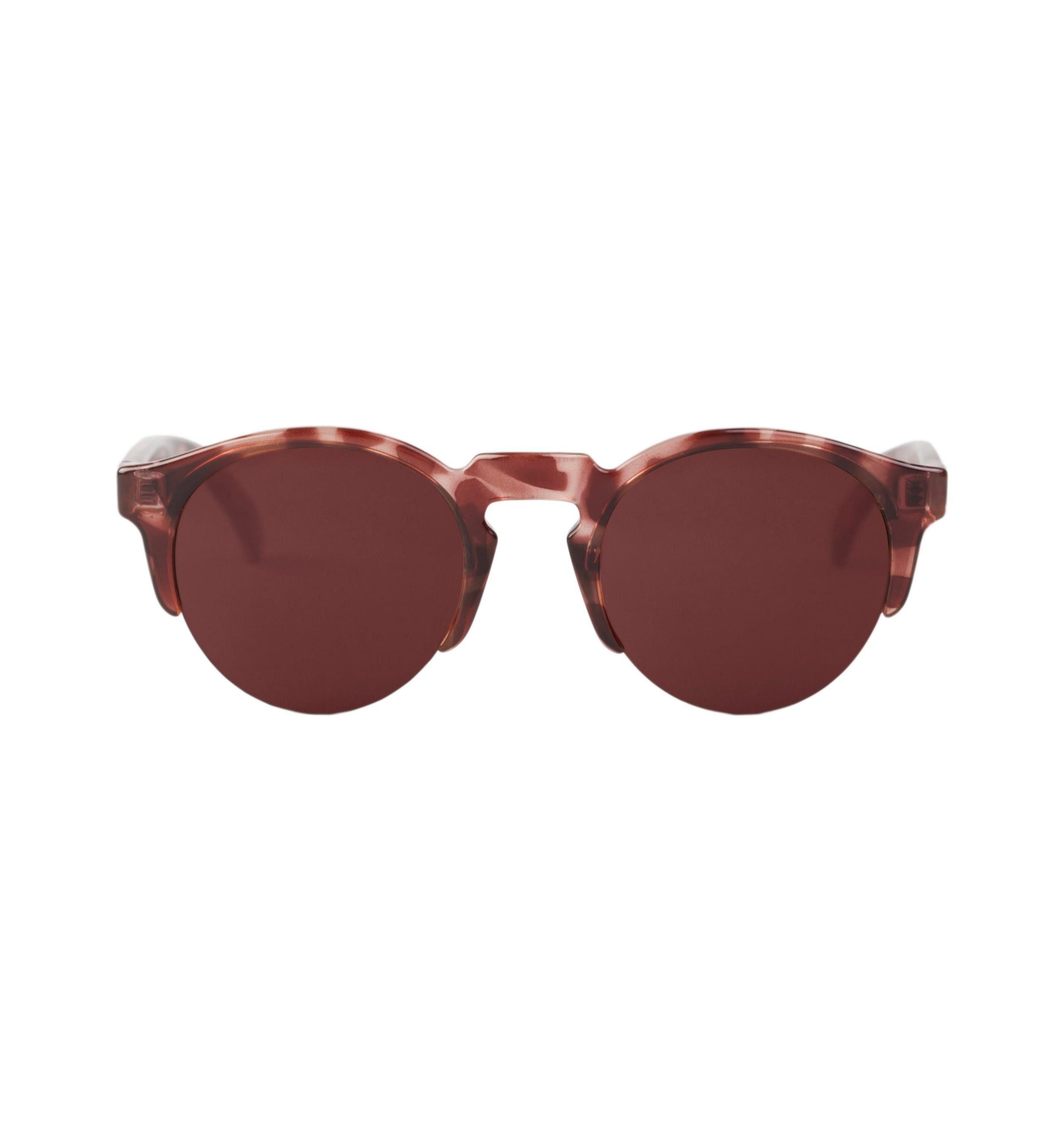 Mr. Boho Sonnenbrille »Monochrome rote Born«