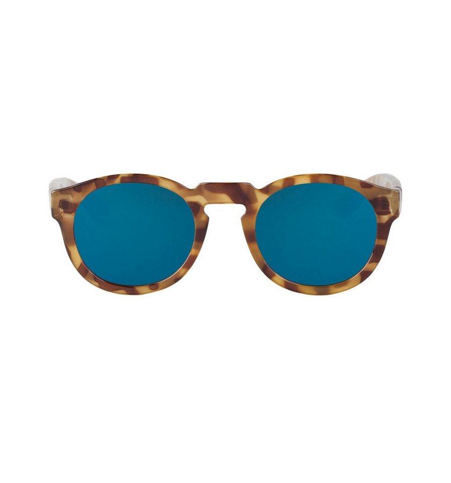 Mr. Boho Sonnenbrille »HC Tortoise Noord mit dunkelblauen Gläsern« in TORTOISE