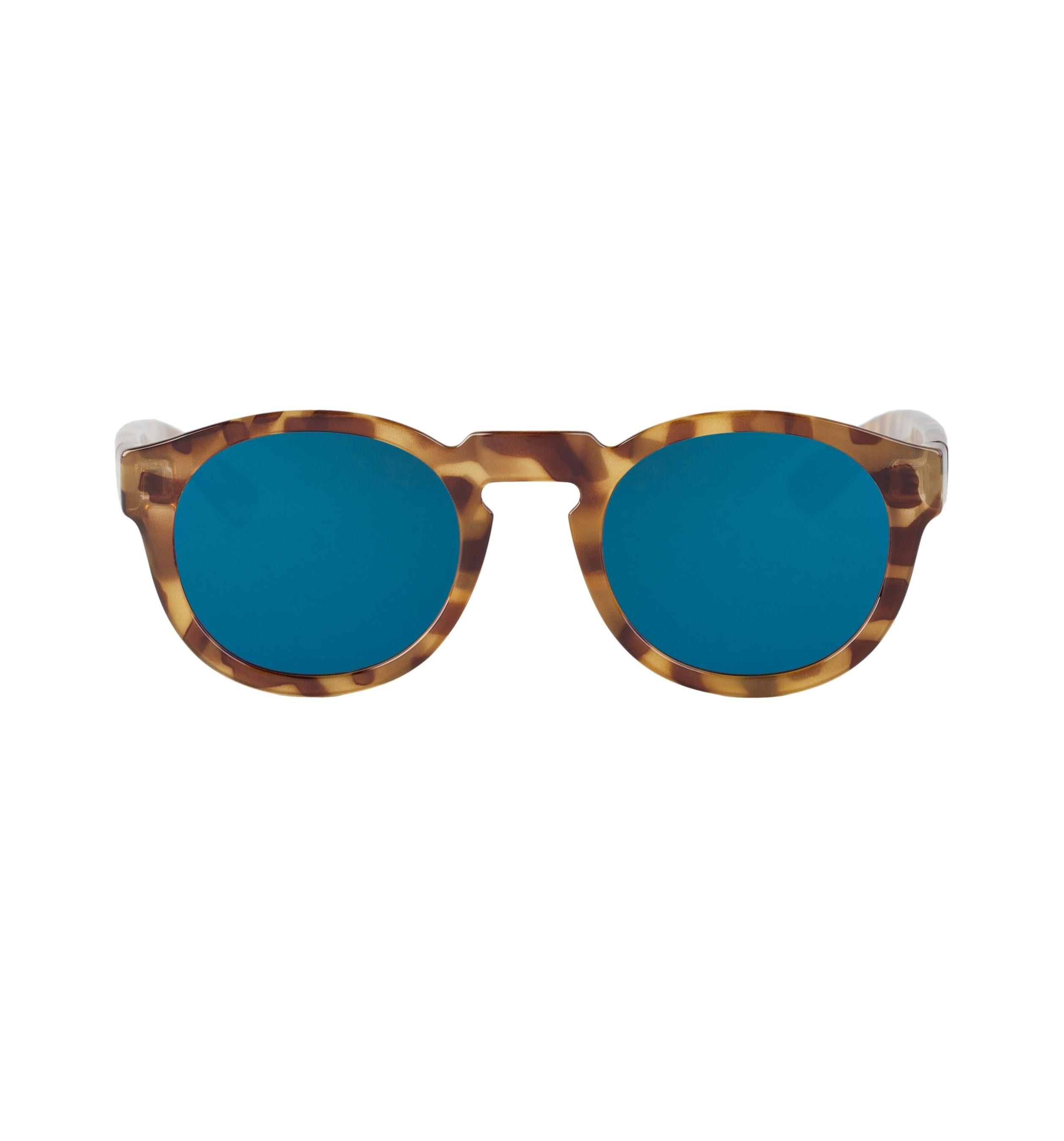 Mr. Boho Sonnenbrille »HC Tortoise Noord mit dunkelblauen Gläsern«
