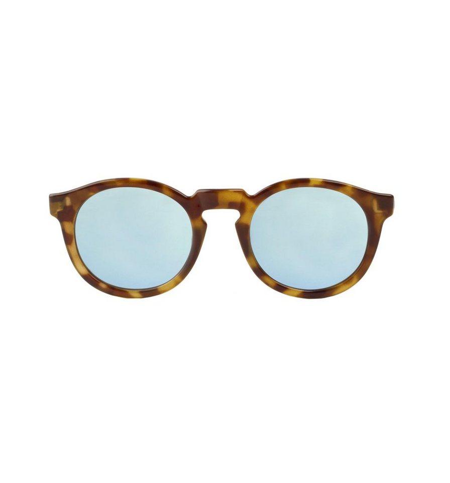 Mr. Boho Sonnenbrille »HC Tortoise Jordaan mit himmelblauen Gläsern« in HC TORTOISE