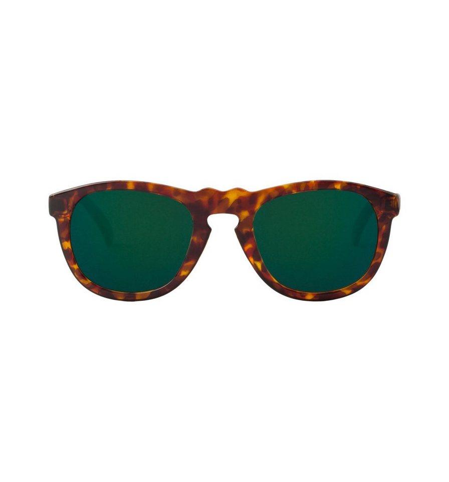 Mr. Boho Sonnenbrille »Cheetah Tortoise Williamsburg mit dunkelgrünen Gl« in CHEETAH TORTOISE