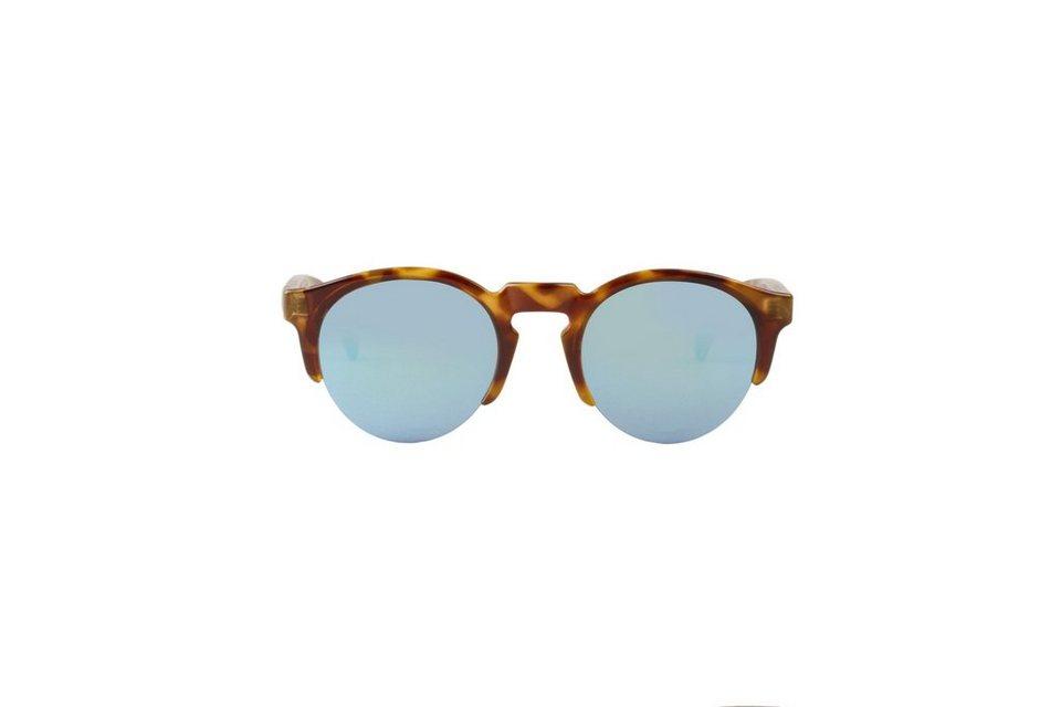 Mr. Boho Sonnenbrille »HC Tortoise Born mit hellblauen Gläsern« in HC TORTOISE