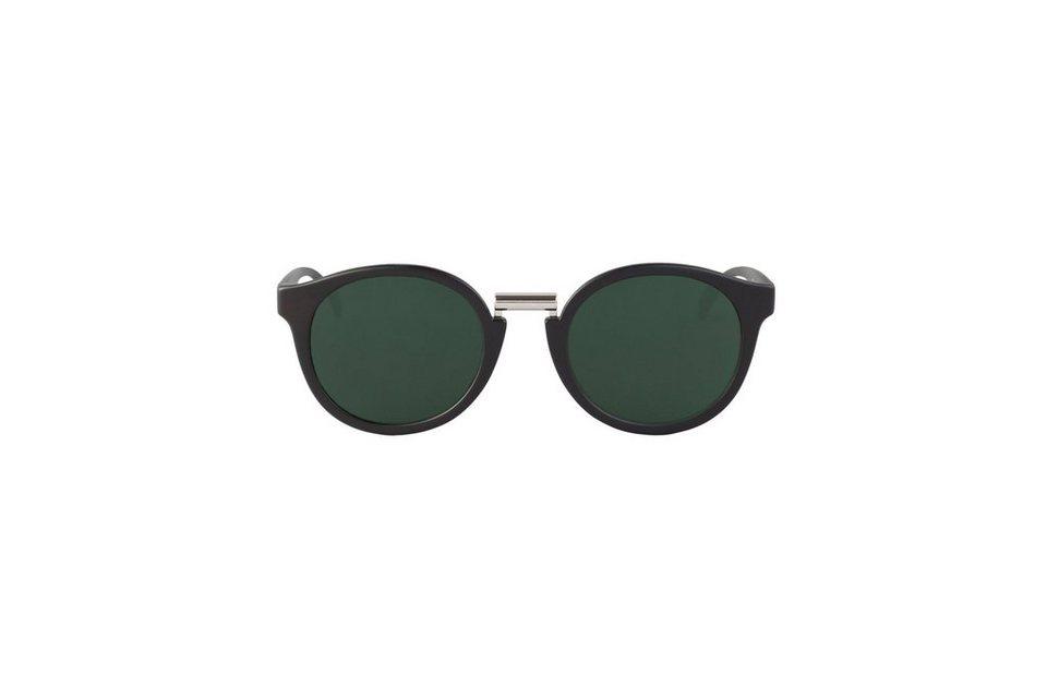 Mr. Boho Sonnenbrille »Matt schwarze Fitzroy mit klassischen Gläsern« in MATTE BLACK