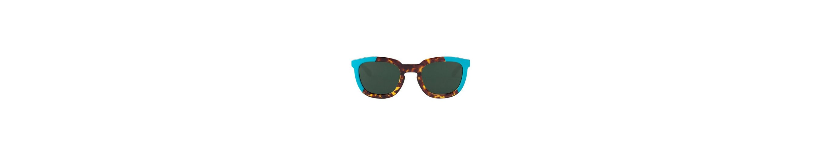 Mr. Boho Sonnenbrille »Turquoise/Cheetah Tortoise Lemarais mit klassische«
