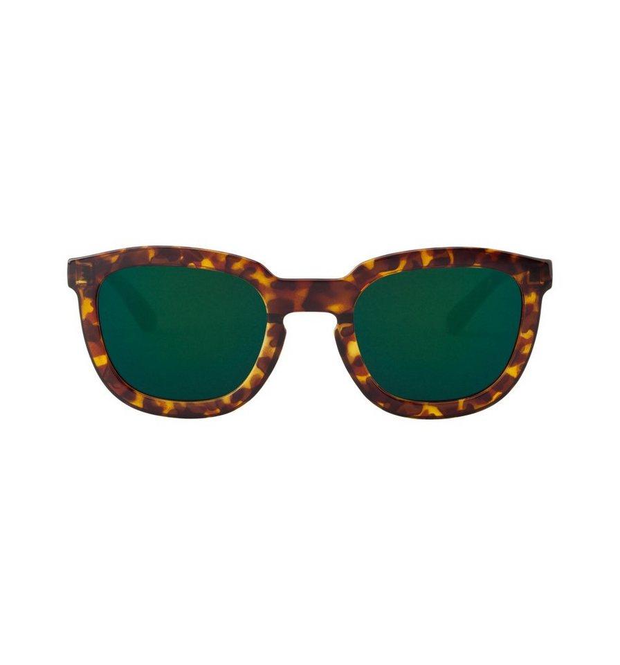 Mr. Boho Sonnenbrille »Cheetah Tortoise Lemarais mit dunkelgrünen Gläsern« in CHEETAH TORTOISE