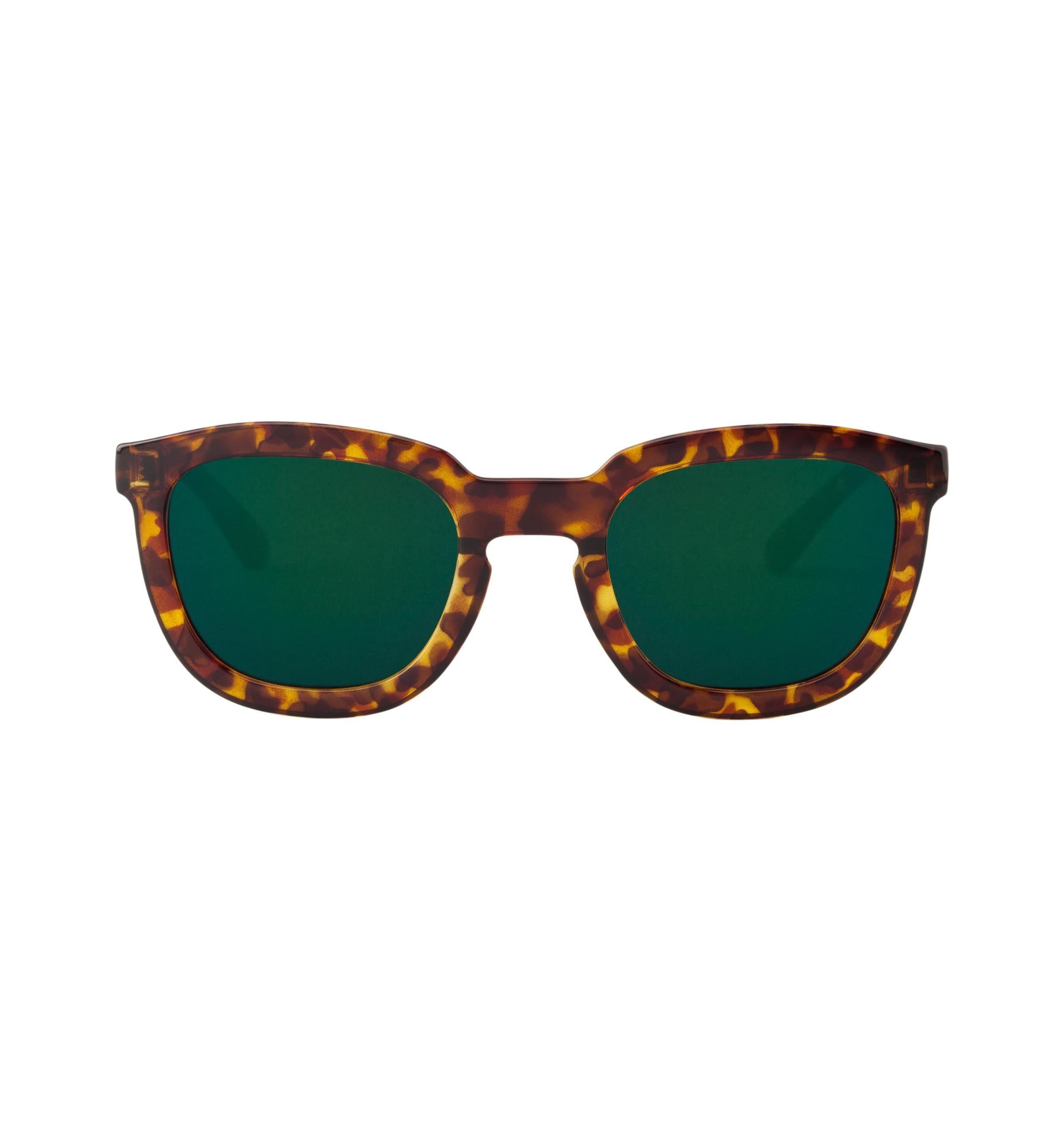 Mr. Boho Sonnenbrille »Cheetah Tortoise Lemarais mit dunkelgrünen Gläsern«