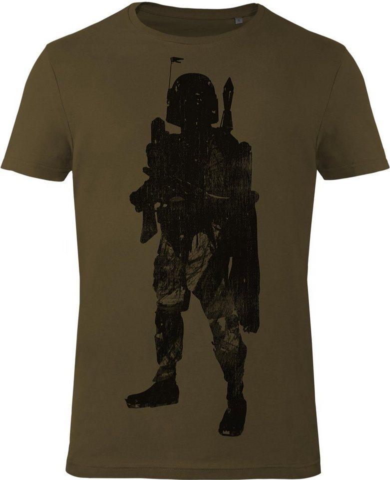 Gozoo T-Shirt »Star Wars - Bounty Hunter« in Olive