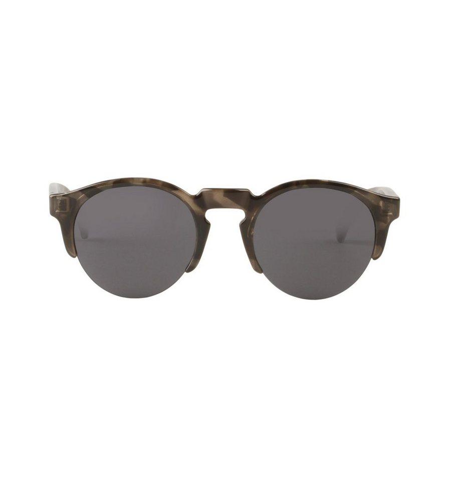 Mr. Boho Sonnenbrille »Graue Tortoise Born mit klassischen Gläsern« in GREY TORTOISE