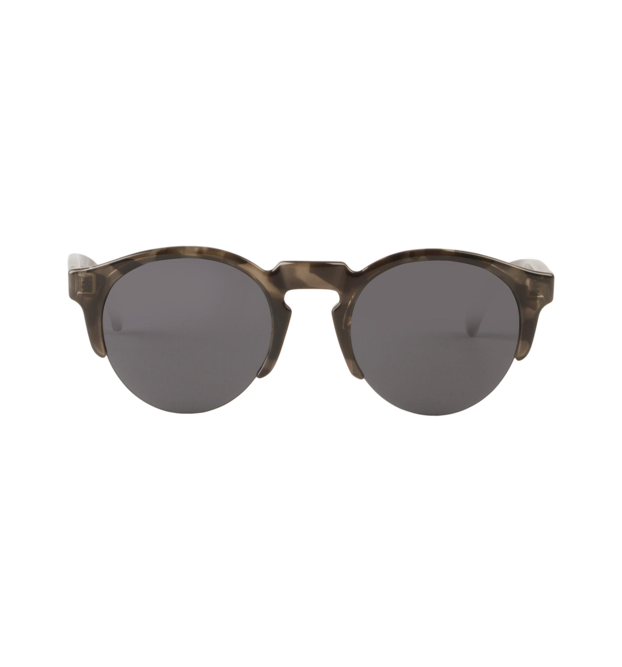 Mr. Boho Sonnenbrille »Graue Tortoise Born mit klassischen Gläsern«