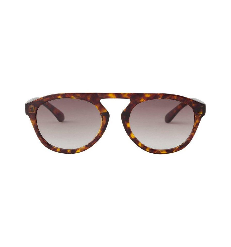 Mr. Boho Sonnenbrille »Cheetah Tortoise Wynwood mit braunem Farbverlauf« in CHEETAH TORTOISE