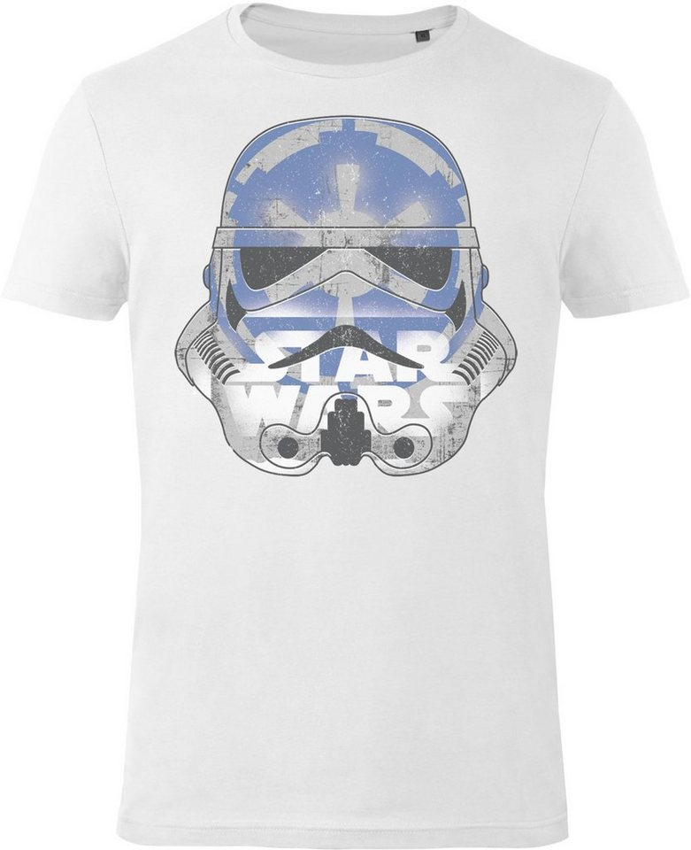Gozoo T-Shirt »Star Wars - Imperial Stormtrooper - Galactic Empir« in White