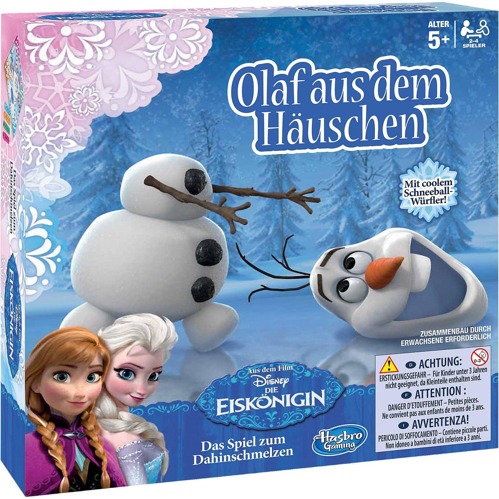 Hasbro Die Eiskönigin - Olaf aus dem Häuschen
