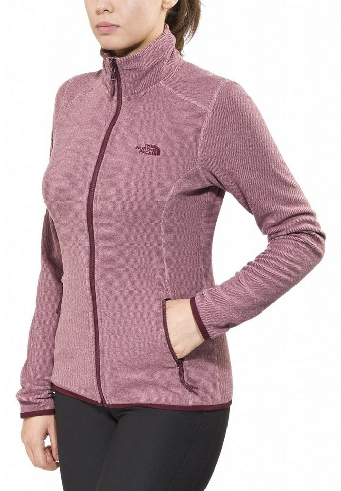 The North Face Outdoorjacke »100 Glacier Full Zip Women« in pink