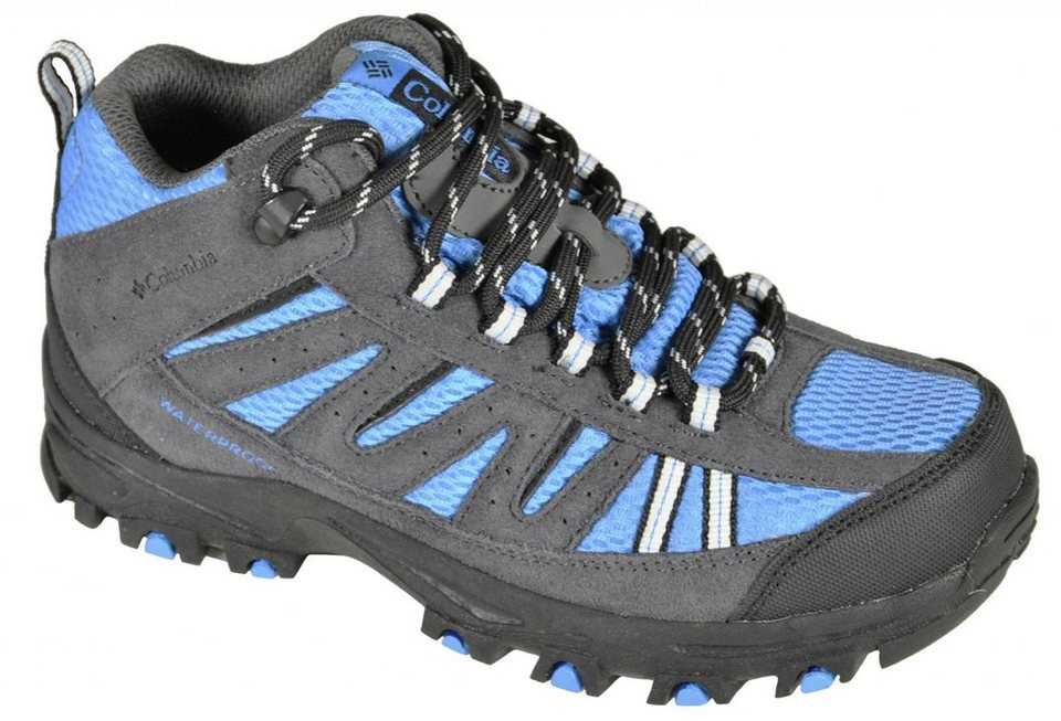 Columbia Kletterschuh »Pisgah Peak Shoes Youth Mid WP« in grau