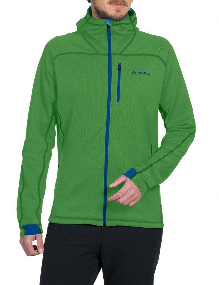 VAUDE Outdoorjacke »Valluga II Fleece Jacket Men« in grün