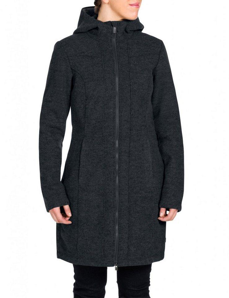 VAUDE Outdoorjacke »Tinshan Coat Women« in schwarz