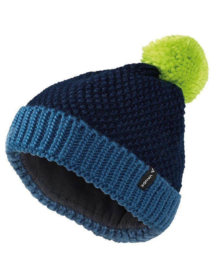 VAUDE Mütze »Cornua II Beanie Kids« in blau