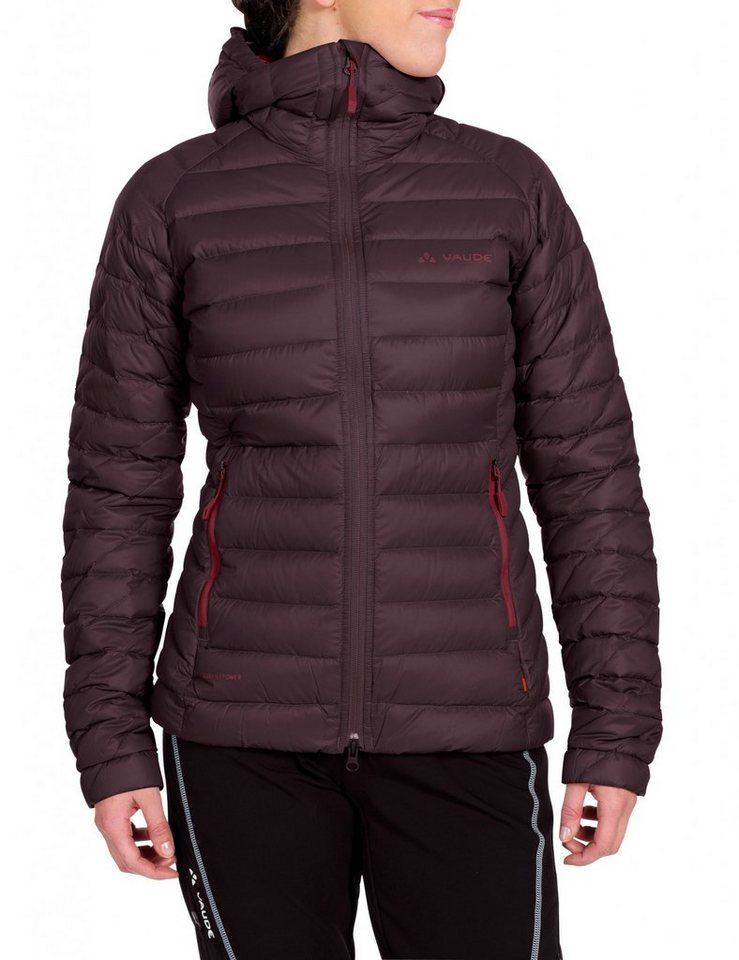 VAUDE Outdoorjacke »Kabru II Hooded Jacket Women« in rot