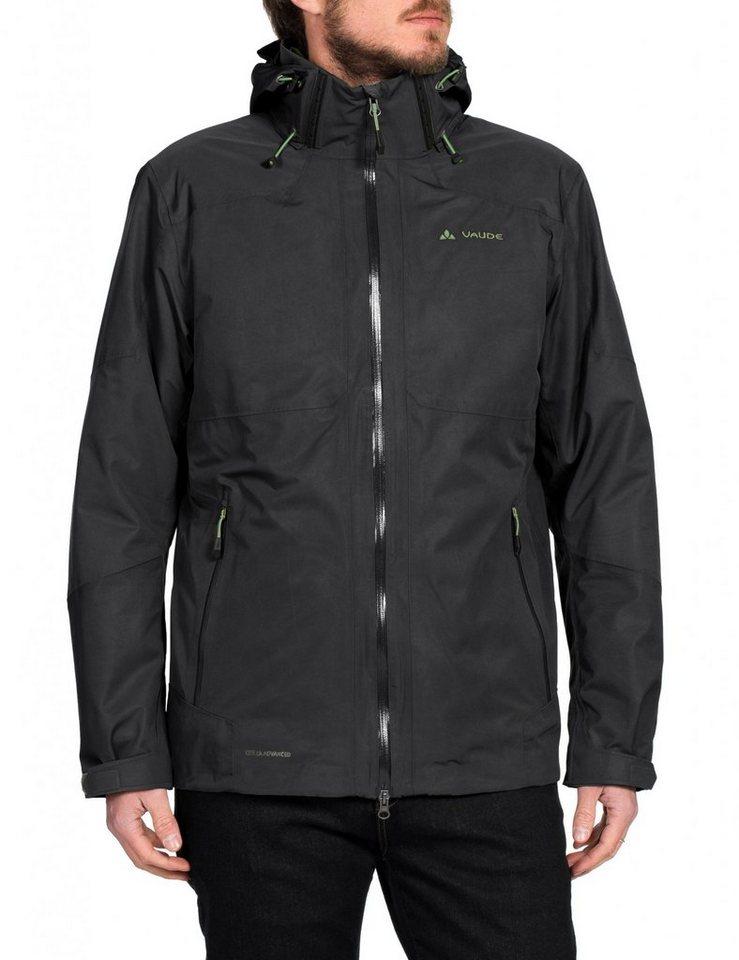 VAUDE Outdoorjacke »Gald 3in1 Jacket Men« in schwarz