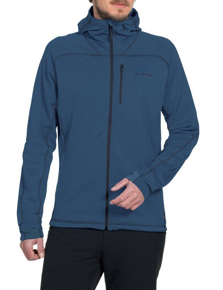 VAUDE Outdoorjacke »Valluga II Fleece Jacket Men« in blau