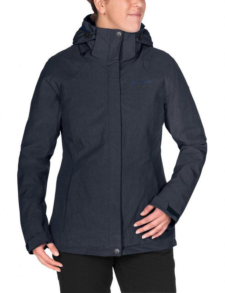 VAUDE Outdoorjacke »Caserina 3in1 Jacket Women« in blau