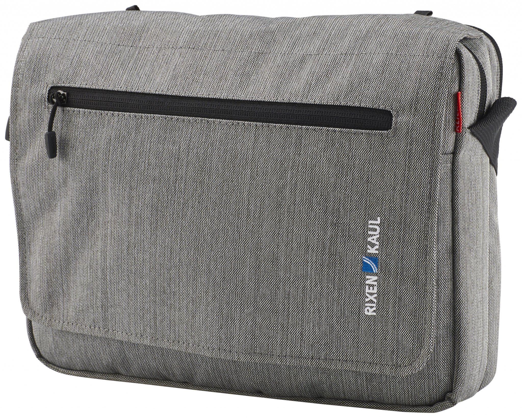 KlickFix Gepäckträgertasche »PadBag Office Tasche grau«