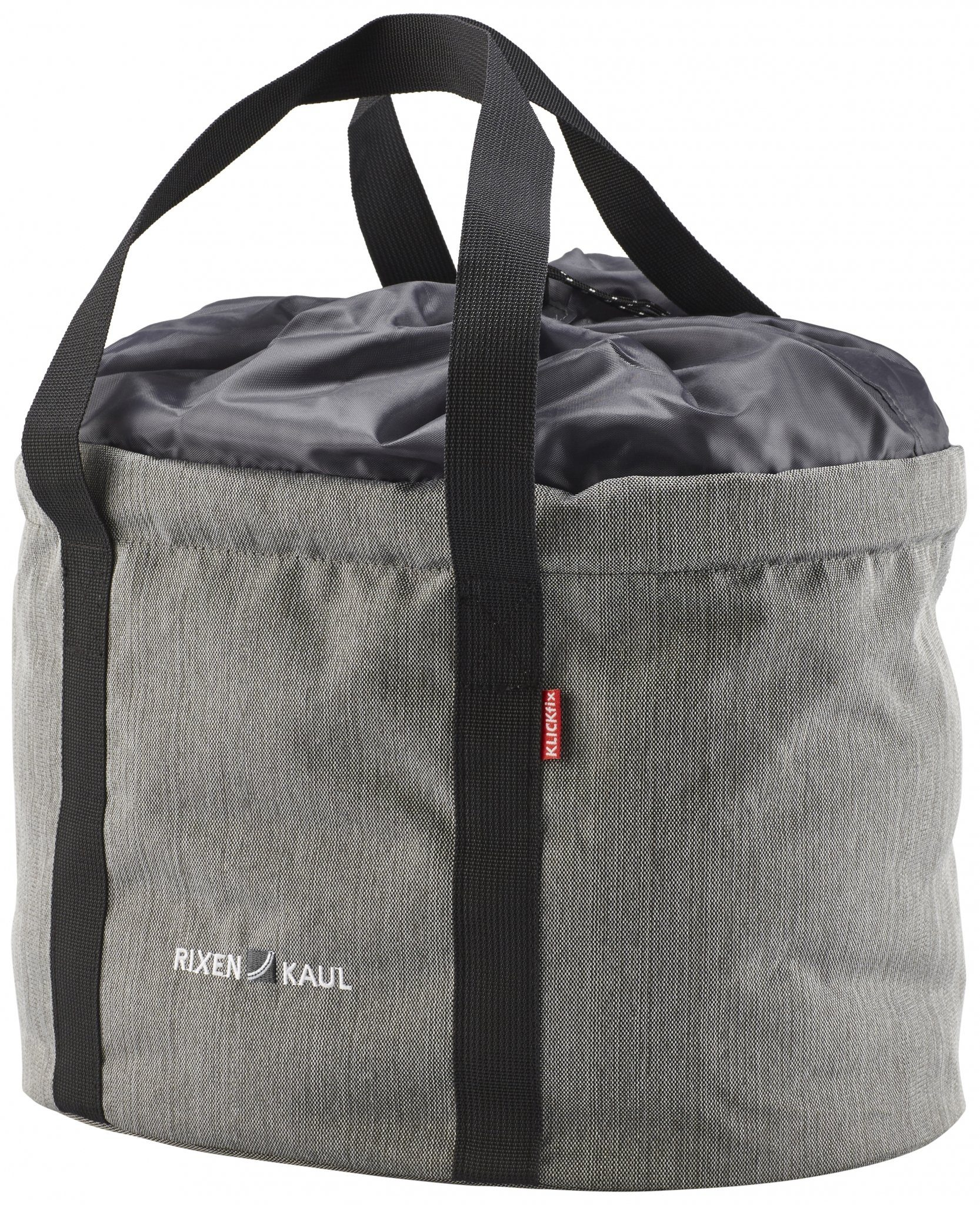 KlickFix Gepäckträgertasche »Shopper Pro grau«