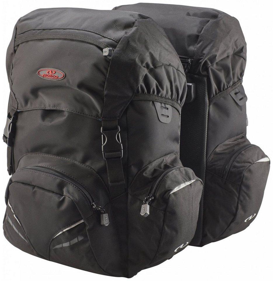 Norco Gepäckträgertasche »Nevada Hinterradtasche schwarz«