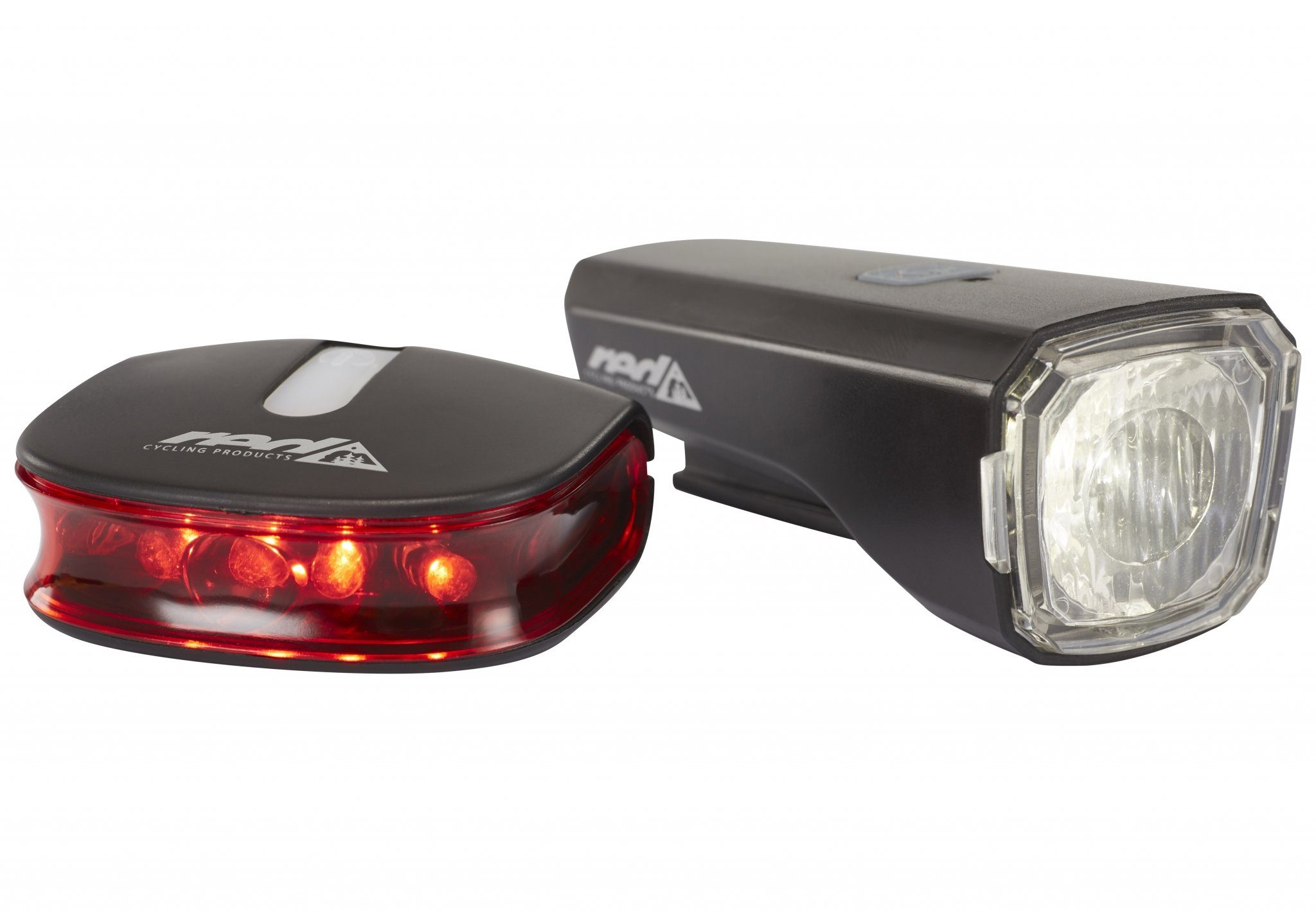Red Cycling Products Fahrradbeleuchtung »Red Cycling Products Eco LED USB Beleuchtungsset«