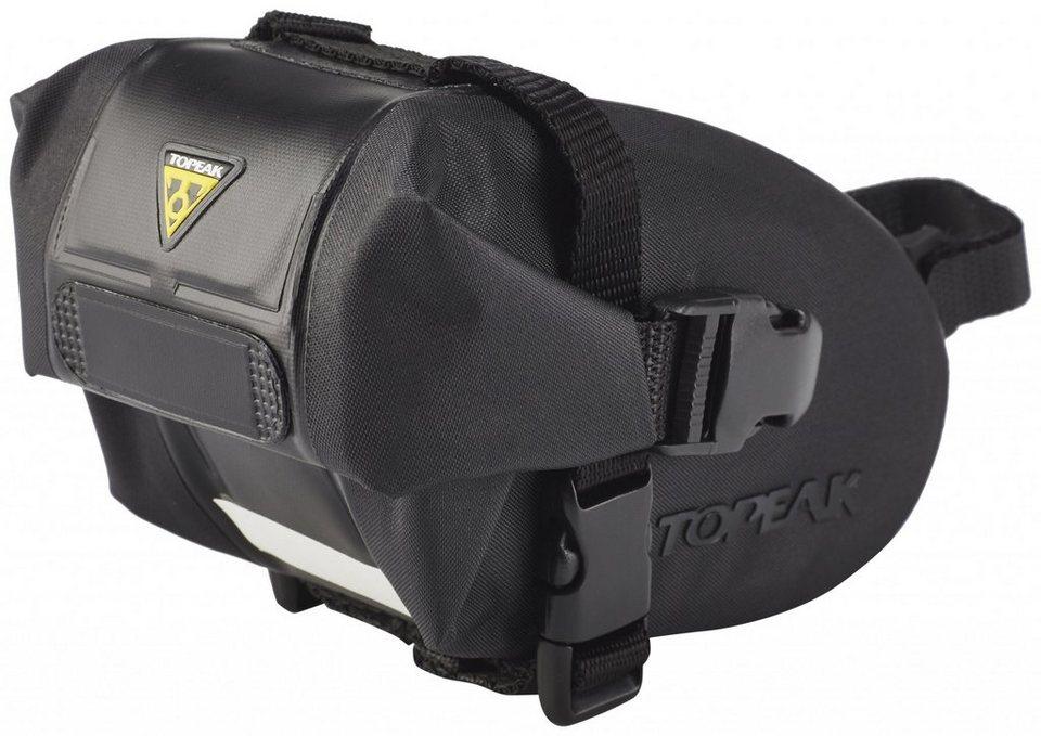 Topeak Gepäckträgertasche »Wedge DryBag Strap schwarz«