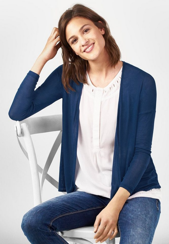 Street One Leichter Cardigan Filvia in delta blue