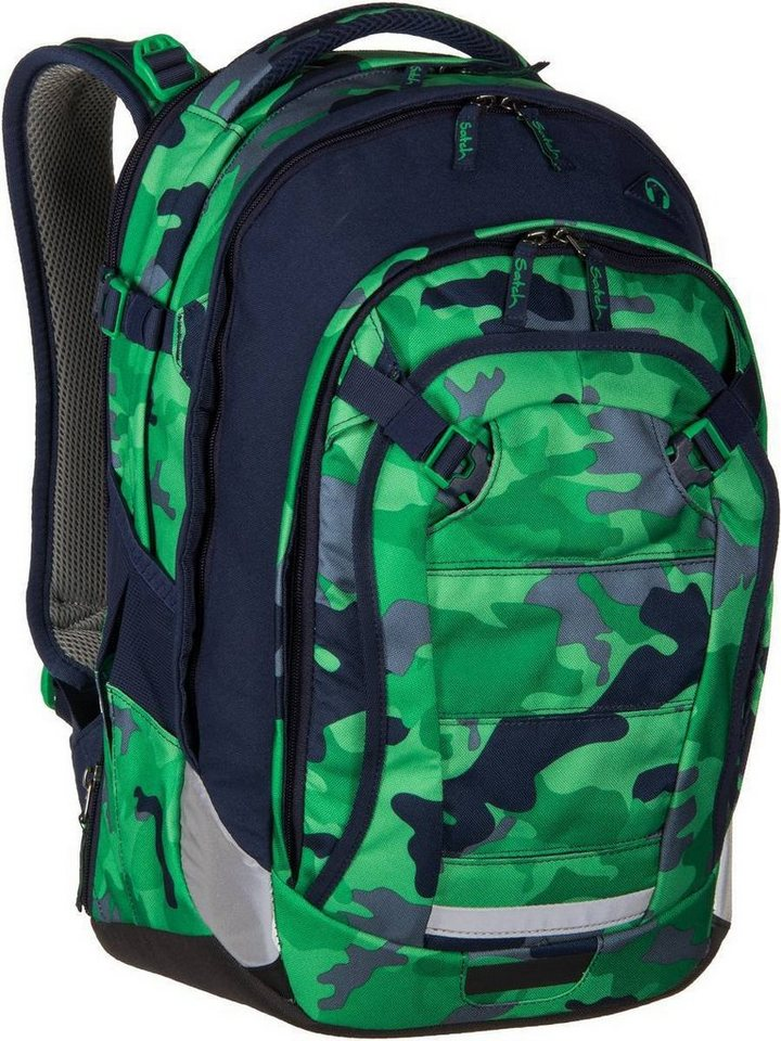 satch by ergobag satch match in Green Camou