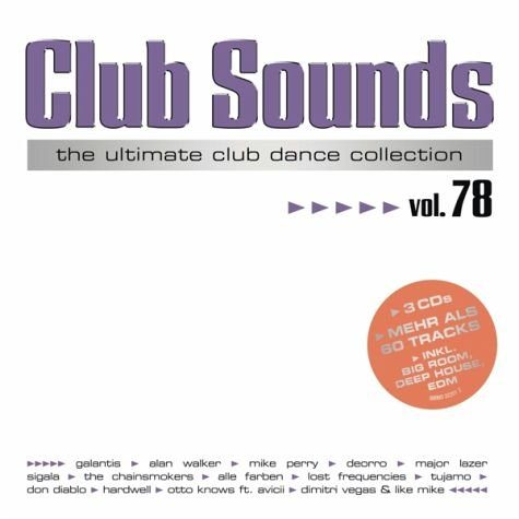 Audio CD »Diverse: Club Sounds Vol.78«