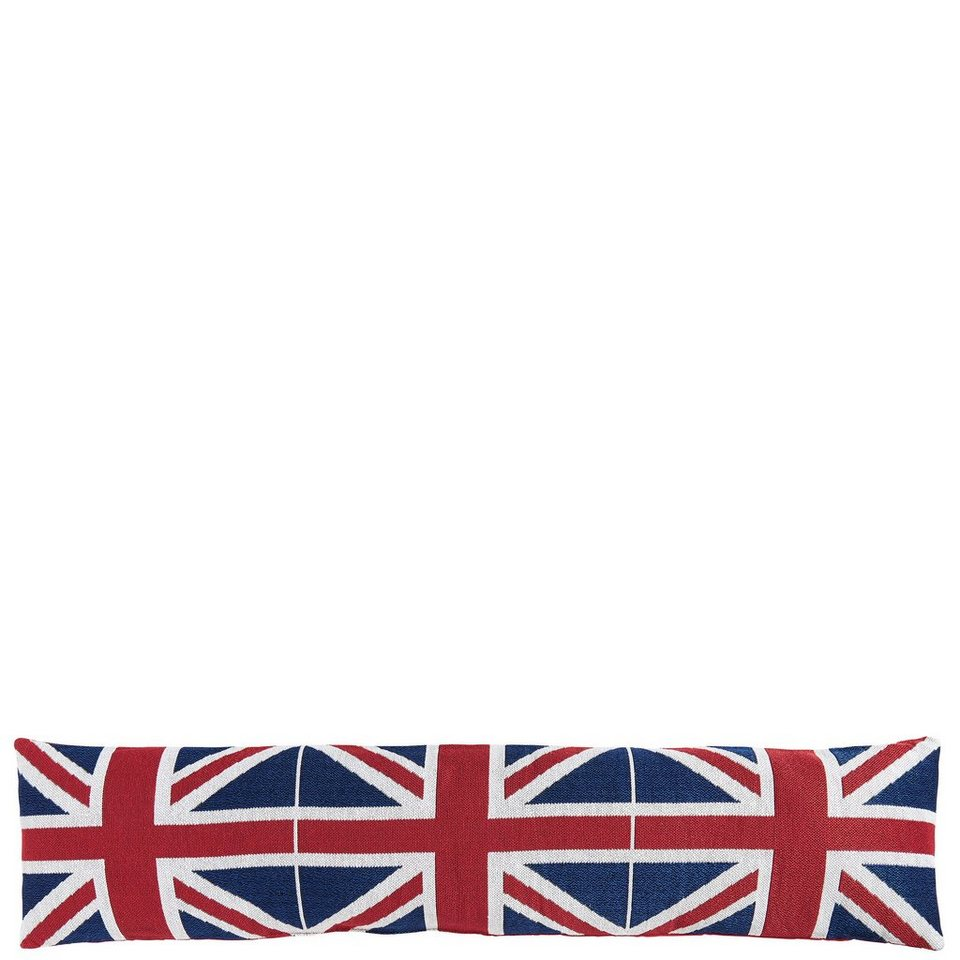 BUTLERS COSY HOME »Zugluftstopper Union Jack« in blau-rot-weiss