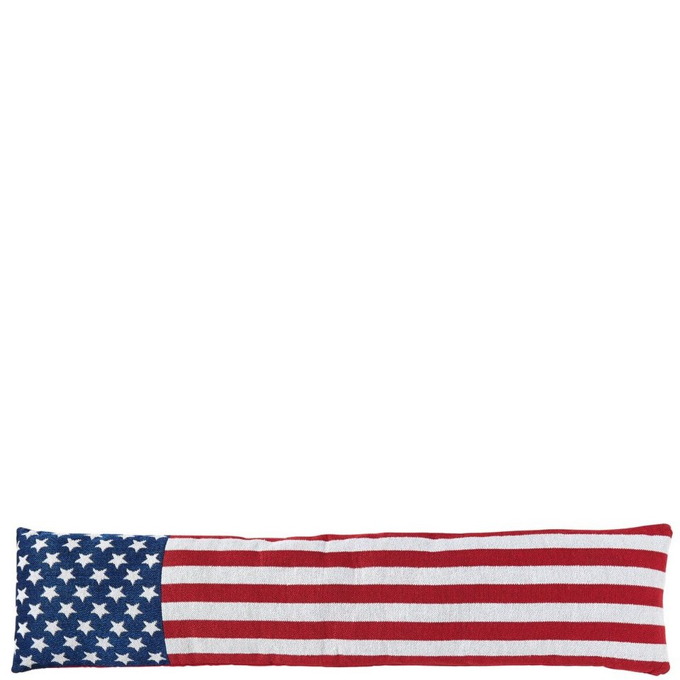 BUTLERS COSY HOME »Zugluftstopper US Flagge« in blau-rot-weiss
