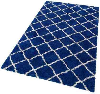 Hochflor-Teppich »Robin«, Home affaire, rechteckig, Höhe 40 mm, gewebt