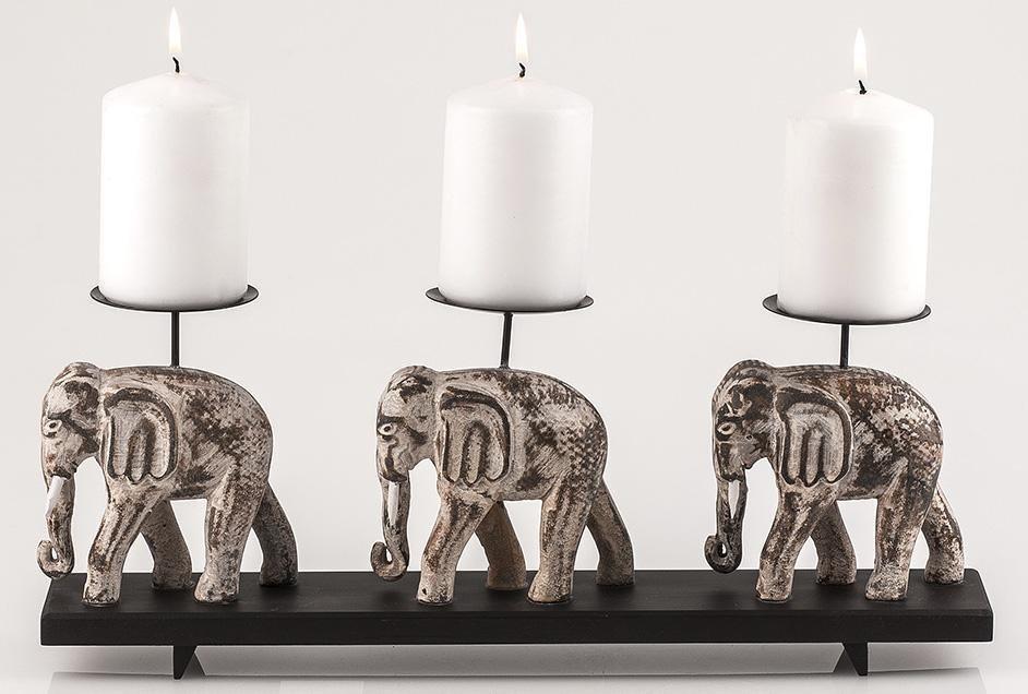 Home affaire Kerzenständer »Elefant«