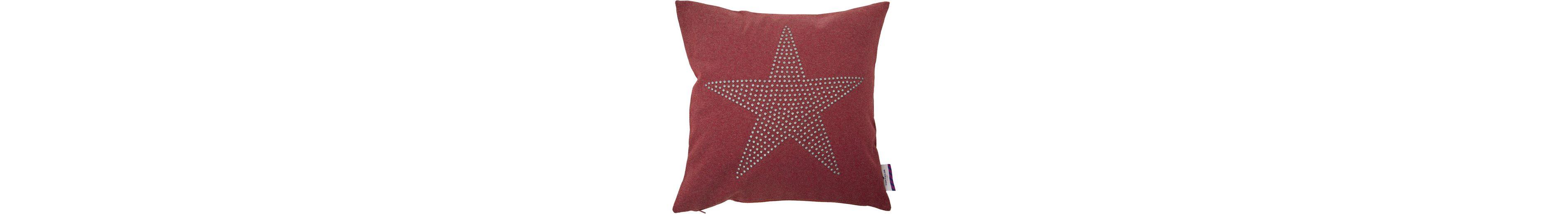 Kissenhüllen, Tom Tailor, »RIVITED STAR« (1 Stück)