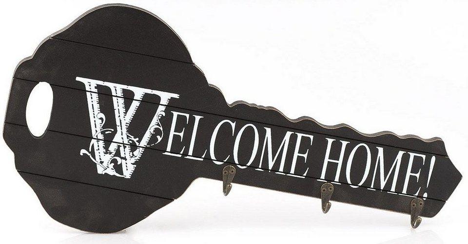 Home affaire Schlüsselbrett »Welcome«