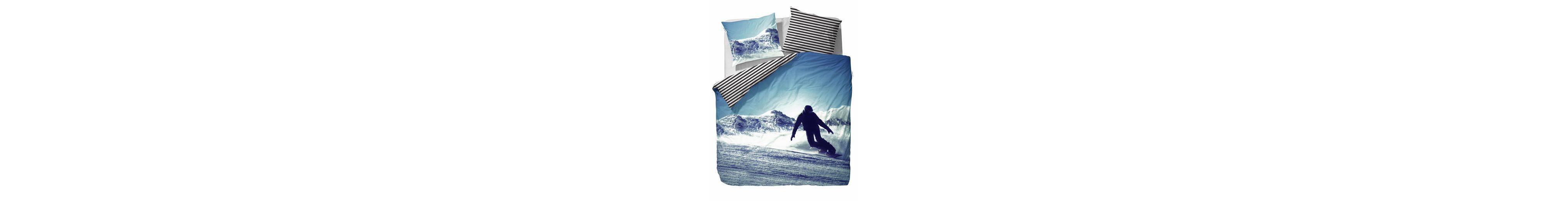 Jugendbettwäsche, Covers & Co, »Boris«, mit Snowboarder