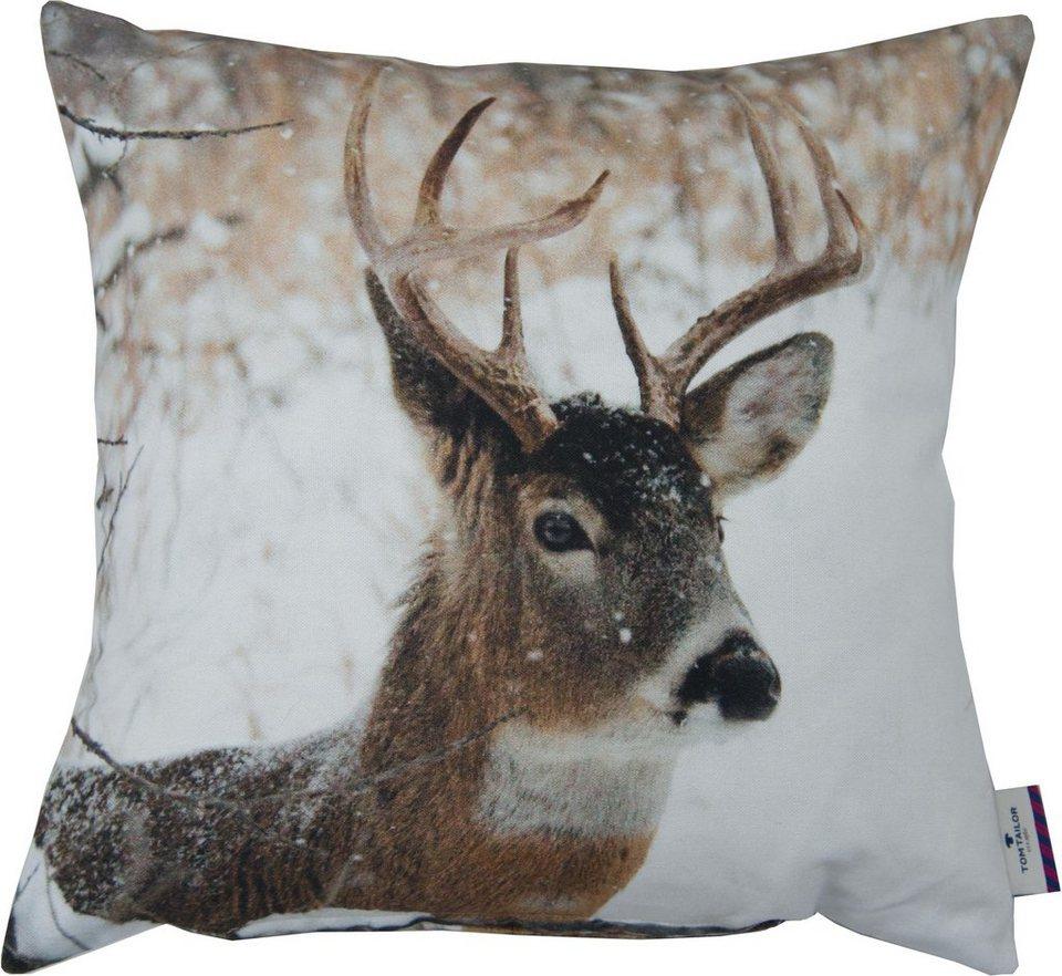 kissenh llen tom tailor printed stag 1 st ck otto. Black Bedroom Furniture Sets. Home Design Ideas