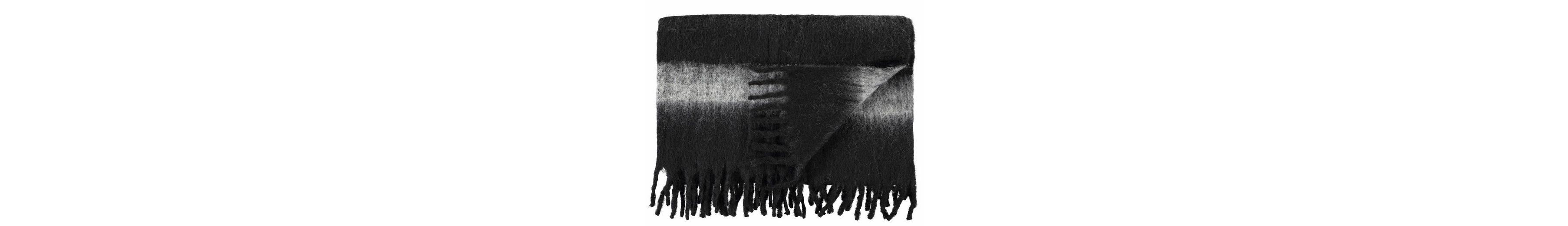 Wolldecke, Marc O'Polo Home, »Stripe Wool«, in Filz-Optik