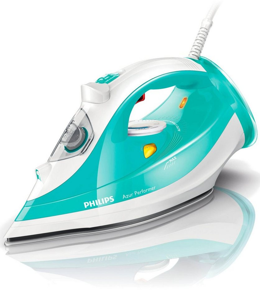 Philips Bügeleisen GC3811/70, SteamGlide Plus Bügelsohle, 2400 Watt